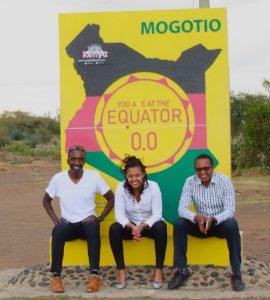 The Equator at Mogotio