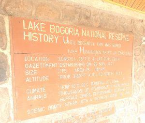 Lake Bogoria National Reserver Stats